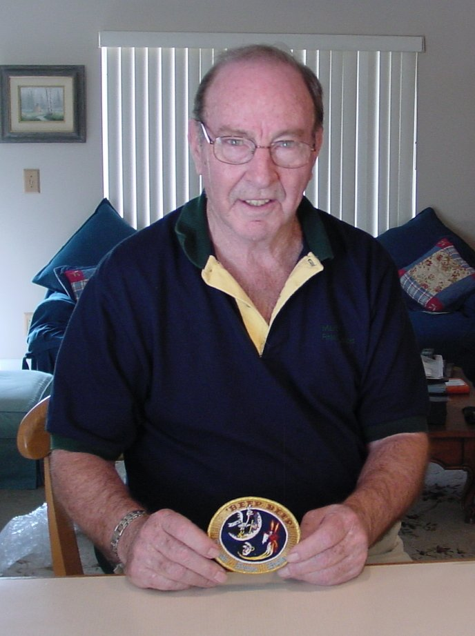 Edgar Mitchell and the BEEP BEEP patch