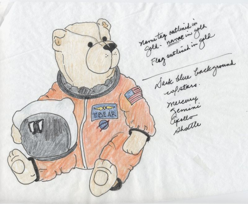 Astronaut Bear