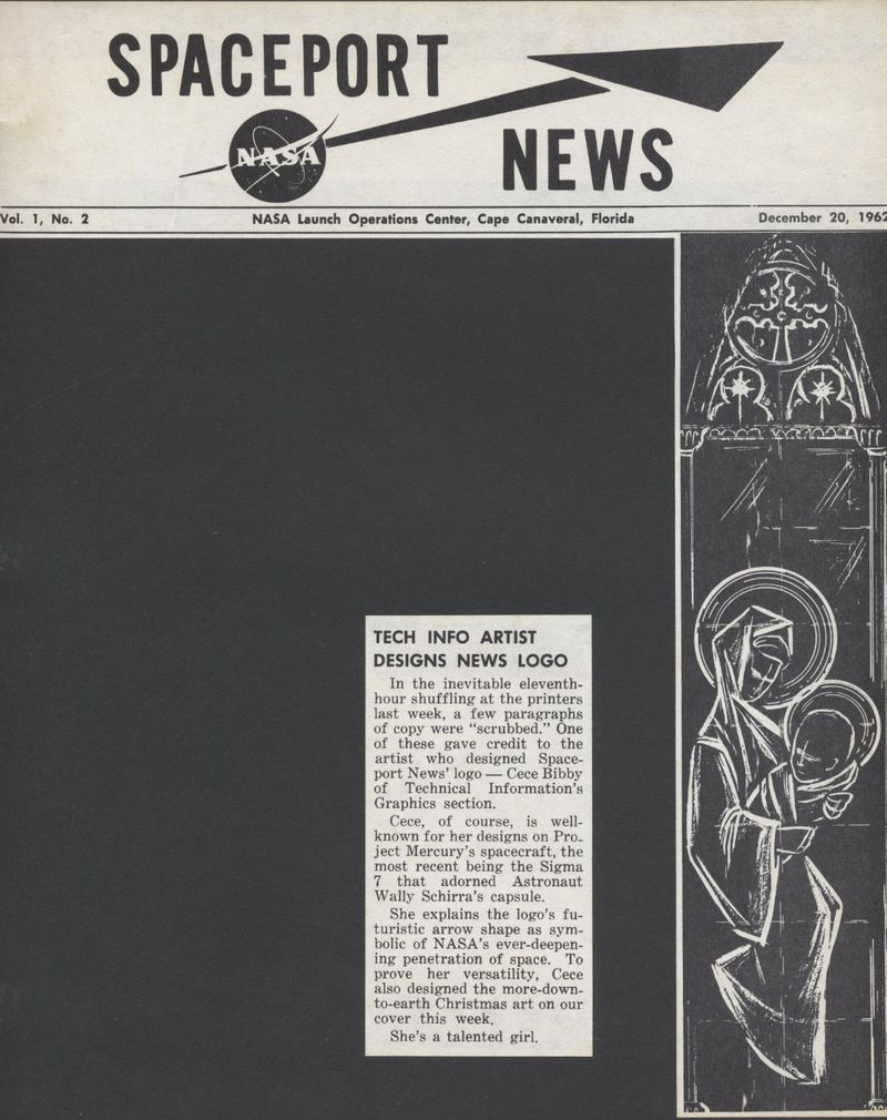 Spaceport News cover
