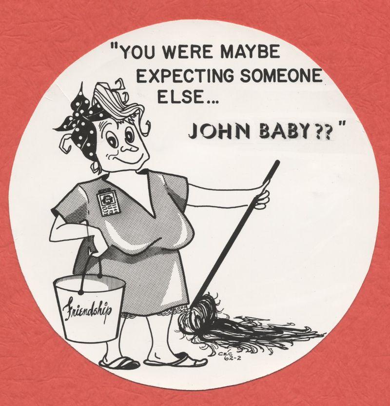 Second John Glenn unnekkid lady